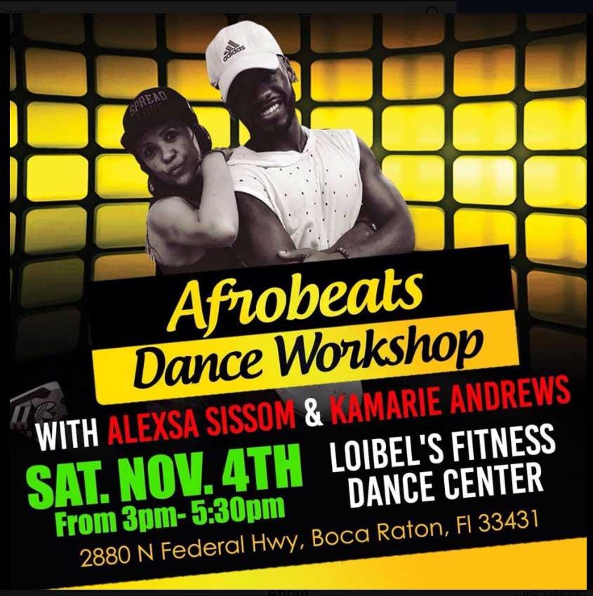 Afrobeats Dance Workshop - Loibels Fitness Dance Center